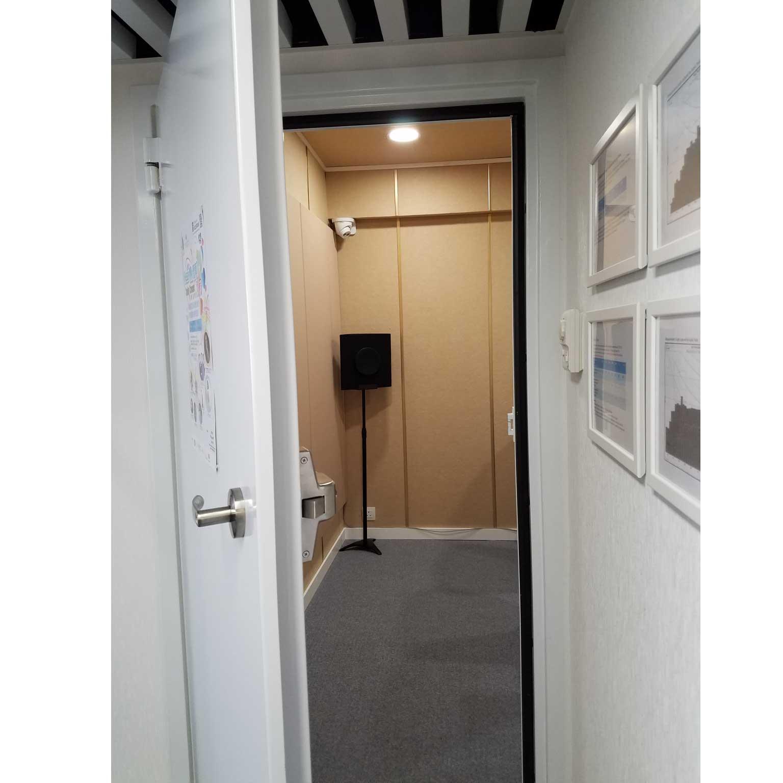 銅鑼灣聽力中心聽力測試房