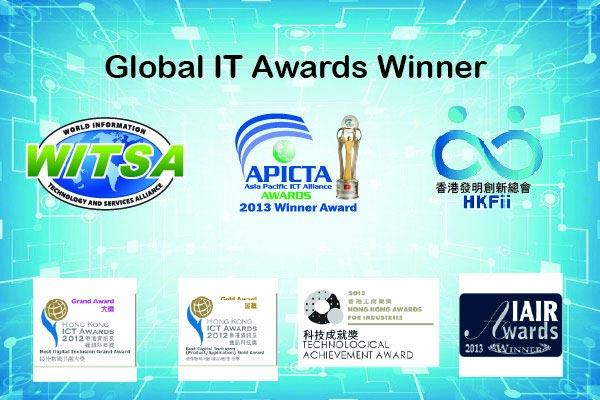 Winner of various global prestigious awards