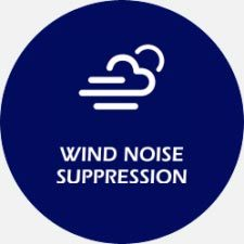 Wind noise suppression Many hearing aids amplify the sound of wind (fans, wind when riding in a car). A high-quality product with this function can suppress the wind and make the voice clearer.
